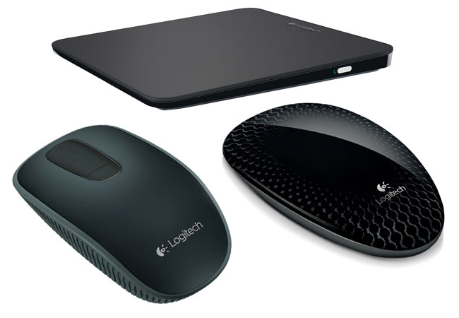 logitech touch mouse