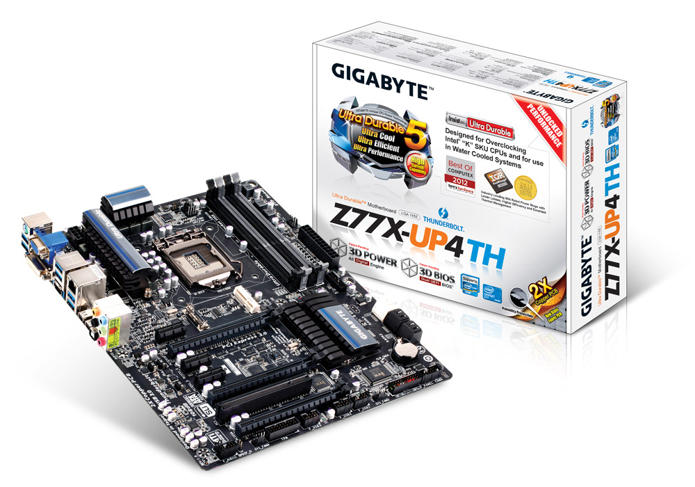 Motherboard Gigabyte GA Z77X-UP4TH